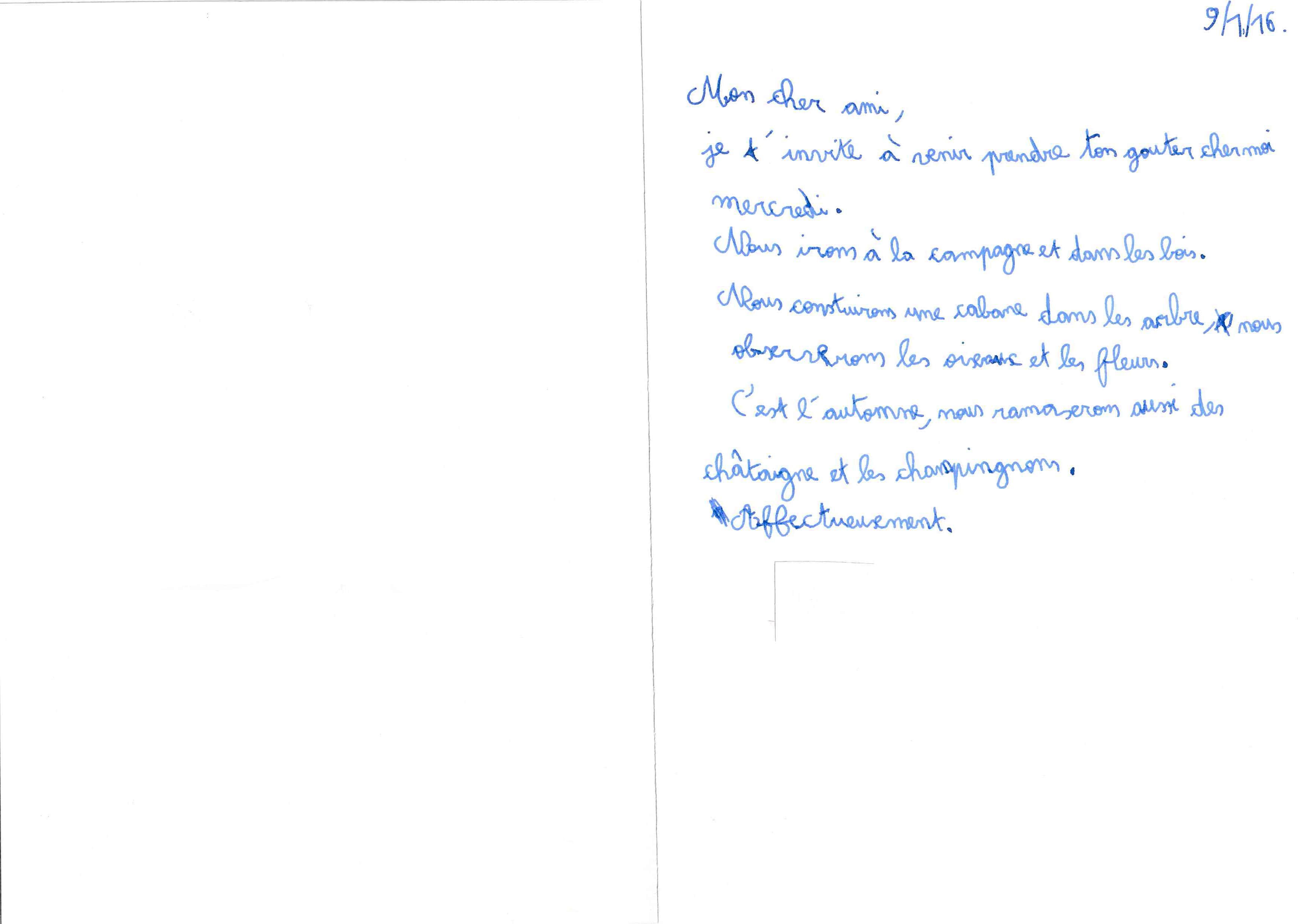 After-Garçon gaucher - 9,5 ans